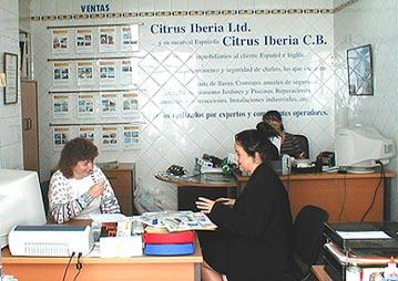 Citrus Iberia office, Jalon Valley